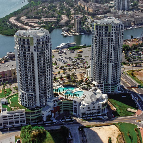 Towers of Channelside Twin Residential Condominiums
